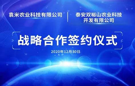 袁米农业科技有限公司与泰安双裕山农业科技开发有限公司